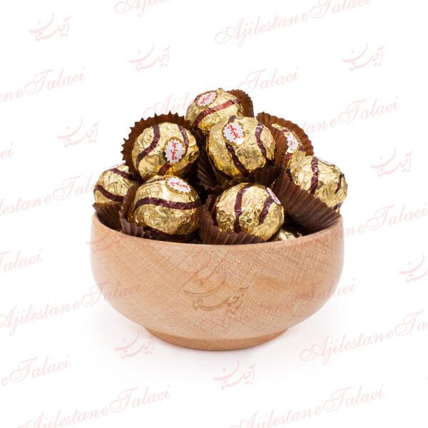 شکلات توپی با مغز فندق شونیز